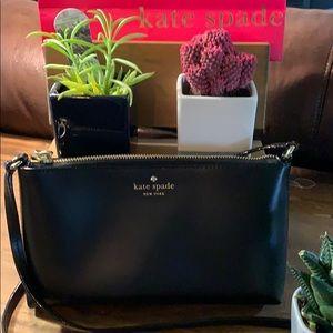 Kate Spade black purse. EUC